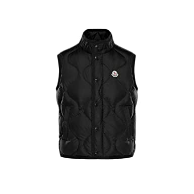 moncler mens black down jacket