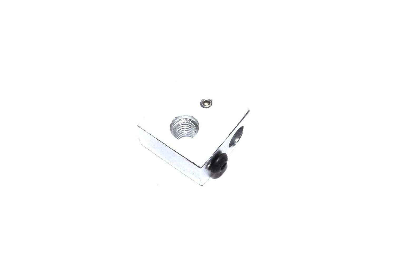 Bloque de aluminio para calentador M5 de 20 x 20 x 10 mm para ...