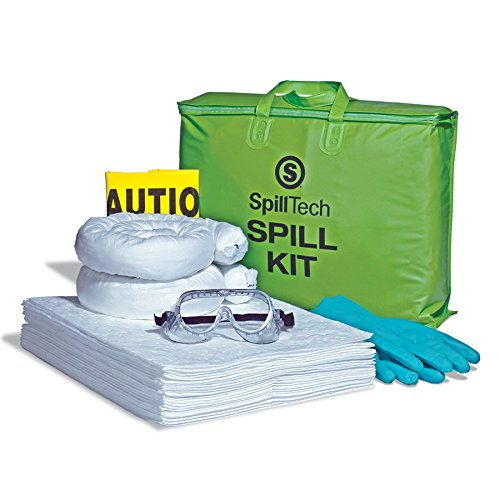 SpillTech Oil-Only Tote Bag Spill Kit, 27 Pieces (SPKO-Tote)