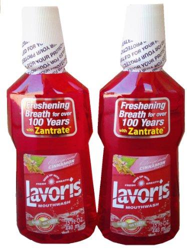 Lavoris Mouthwash Original Cinnamon Flavor 2-pack ()