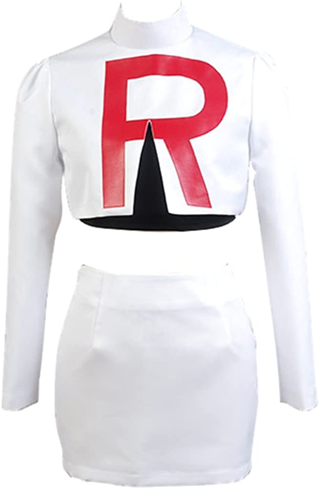 Pokemon Team Rocket Jessie disfraz de cosplay: Amazon.es: Ropa y ...