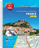 France 2018 Laminated A4 2018 (Michelin Road Atlases)