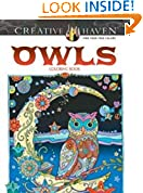 #6: Creative Haven Owls Coloring Book (Adult Coloring)