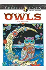 Creative Haven Owls Coloring Book (Adult Coloring) Paperback