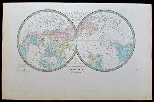 Continent Antique Map - 8