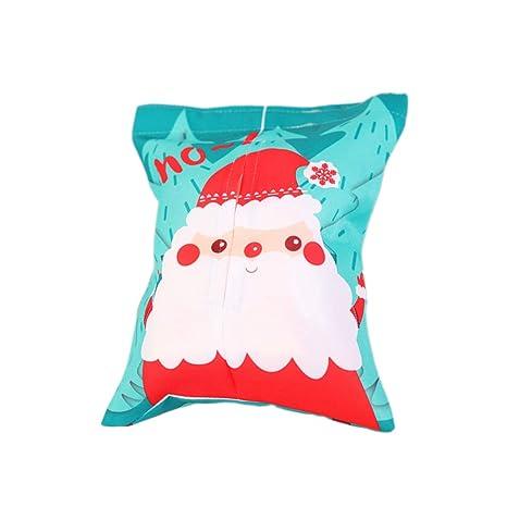 BESTOYARD Caja de pañuelos navideños Porta servilleta dispensador Regalo de decoración de Navidad Creativo (Santa