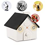 YC° CY Ultrasonic Dog Barking Control Outdoor Bark Box with Adjustable Level Anti Barking Device Safe for Small Medium Large Dogs, Sonic Bark Deterrents