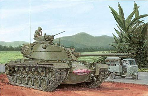 Dragon Models M48A3 Model B Smart Kit, 1/35-Scale
