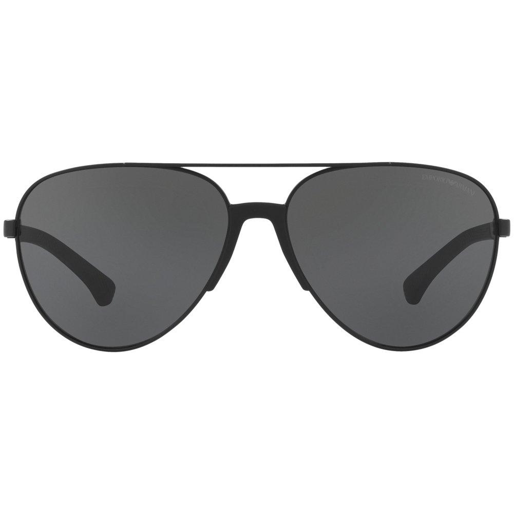 Emporio Armani sunglasses (EA-2059 320387) Black - Grey lenses