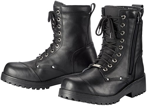 Tour Master Coaster WP Men's Leather On-Road Motorcycle Boots - Black/Size 13 ()