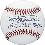 Mike Schmidt Philadelphia Phillies Autographed Baseball with MLB Debut 9/12/72 Inscription - Fanatics Authentic Certified