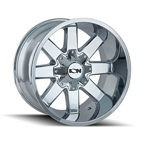 ION (141) CHROME Wheel (0 x 10. inches /8 x 165 mm, -19 mm offset) -  Ion Wheels, 141-2176C