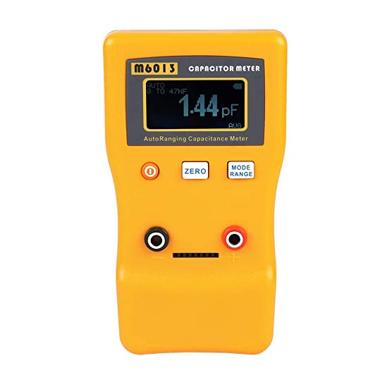M6013 LCD High Precision Capacitor Meter Professional Measuring Capacitance Resistance Capacitor Circuit Tester Capacitor Meter