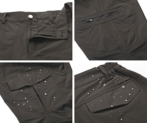 Nonwe Women's Water-resistant Lightweight Cargo Pants-pockets
