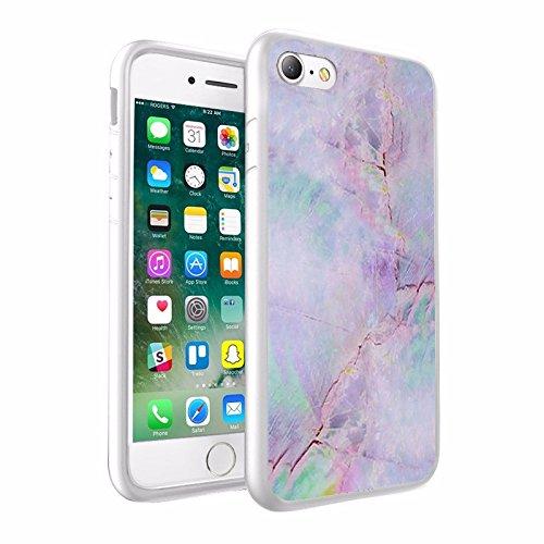 iPhone X Hülle, einzigartige Custom Design Prodective harte zurück dünner dünner Fit PC Bumper Case Kratzfeste Abdeckung für iPhone X - Marmor Design 004