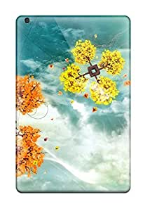Oscar M. Gilbert's Shop New Ipad Mini 3 Case Cover Casing(colorful Sky Trees) 5904498K95536108