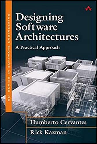 Portada libro Designing Software Architectures