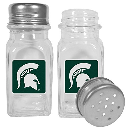 - NCAA Michigan State Spartans Graphics Salt & Pepper Shakers