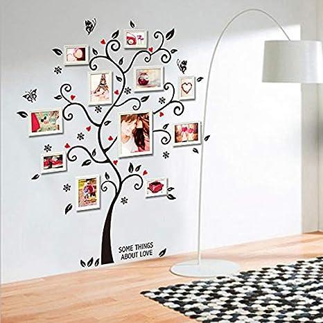Amazon.com: Chitop 3D DIY Removable Photo Tree PVC Wall ...
