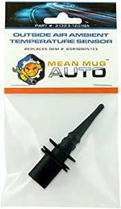 Mean Mug Auto 21323-12019A Outside Air Ambient Temperature Sensor - Compatible with BMW - Replaces OEM #: 65816905133