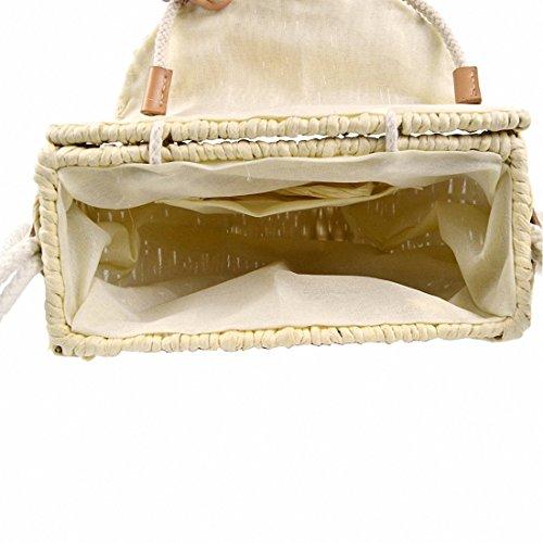 Beach Omelas Rattan Bag 5 Backpacks Straw Shoulder Style Women Handwoven Crossbody Handbags Bag RS4aq