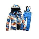 FidgetFidget Snowsuit Waterproof Women Winter Sports Jacket Coat Snowboard Clothing Ski Suit