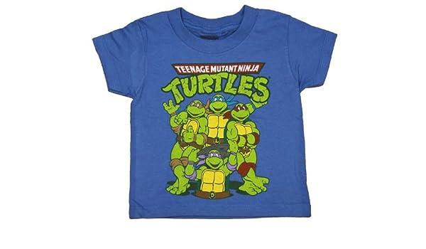TMNT Teenage Ninja Turtles Toddler T-Shirt - Blue