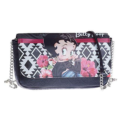 Betty Boop Tribal Travel Bolso De mano Bandolera Bolso al Hombro Pochette Pequeña por Mujer HB