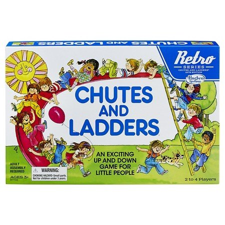 Retro Series Chutes and Ladders