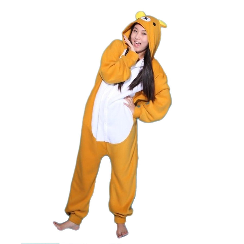 Sexbaby Women Men Animal Bear Design Onesie Halloween Christmas Gift Pyjamas Sleepwear