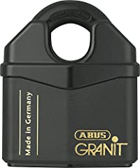 Size:70mm Closed Shackle The ABUS 37RK Granit PLUS solid steel open shackle disc cylinder padlocks offer the highest protection against manipulation. The cylinder is inserted from the top offering optimum drill and pull resistance (8 Tonne pu...