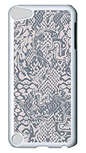 Brian114 Case, iPod Touch 5 Case, iPod Touch 5th Case Cover, Design Of Fashion And Personality 7 Retro Protective Hard PC Back Case for iPod Touch 5 ( white )