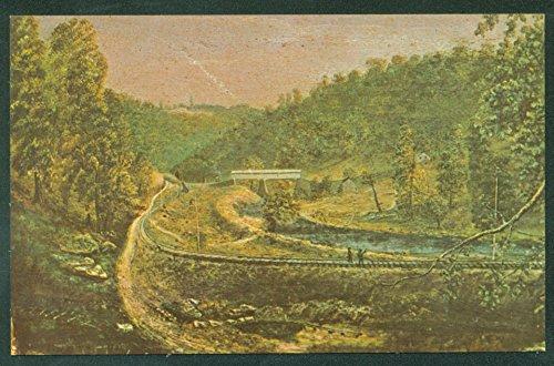 Columbiana County Ohio Little Beaver Creek Lisbon Painting Railroad Train - Beaver Creek Ohio