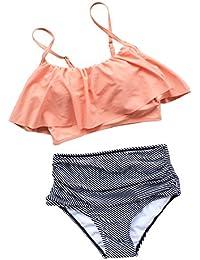 6c11fecc38a8f Amazon.com: Oranges - Bikinis / Swimsuits & Cover Ups: Clothing ...