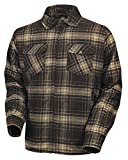 Roland Sands Design Stoddard Plaid Shirt Brown XL 0806-0406-1255