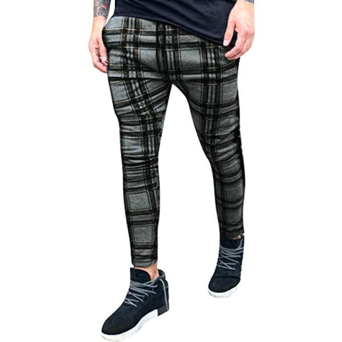 official images exceptional range of styles and colors cost charm FeiBeauty 🔅 Mens Chinos Slim Fit Trousers Summer Indie ...
