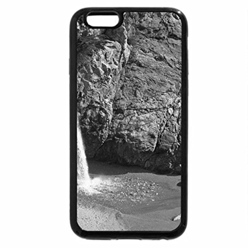 iPhone 6S Case, iPhone 6 Case (Black & White) - Rocky Beach