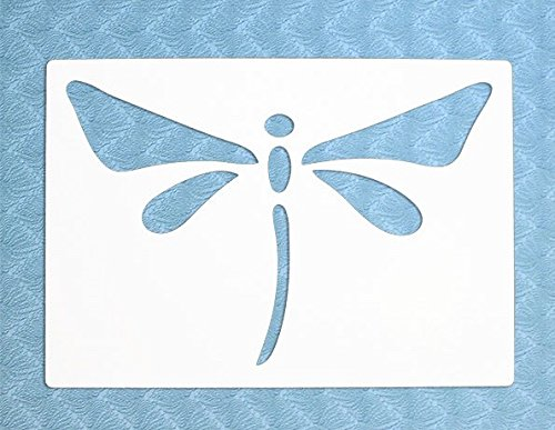 The Bodhi Tribe Dragonfly Yoga Stencil- Dragonflies symbolize the deeper meaning of life, making them buggy favorites among yogis and spiritual gurus. ...