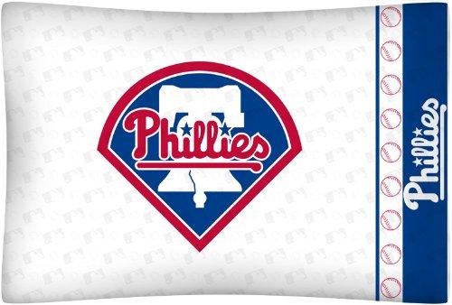 - MLB Philadelphia Phillies Micro Fiber Pillow Case Logo