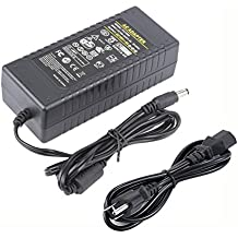 COOLM 19V 6A DC AC Adapter Charger DC Plug Dimension 5.5mm x 2.5mm Suitable for Security, Computer Chassis, Digital Products and Instruments