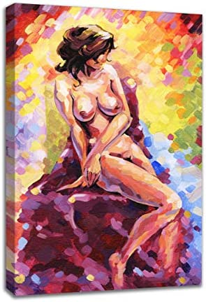 INTALENCE ART Nude Woman Body Sexy Abstract Wall Decor Artwork