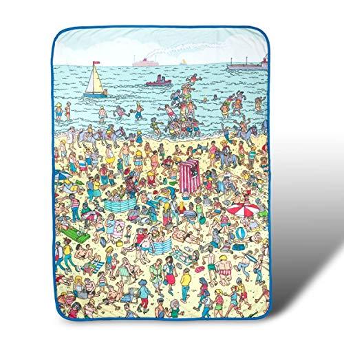 Where's Waldo Fleece Beach Throw Blanket - 45