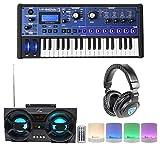 Novation MiniNova 37-Key Compact USB MIDI Keyboard+Headphones+Bluetooth Speakers