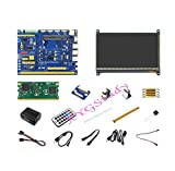 CooWind Raspberry Pi Compute Module 3 Development Kit Type B with 7 inch HDMI LCD CM3 IO Board DS18B20 IR Remote Controller