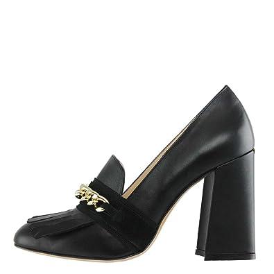 Liu Jo Scarpa Donna Mocassino Karen CAT Nero 217  Amazon.co.uk  Shoes   Bags b4f04665a39