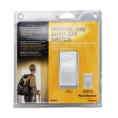 Out of date & Seymour MCBWV Occupancy Sensor Wall Switch Line Voltage White