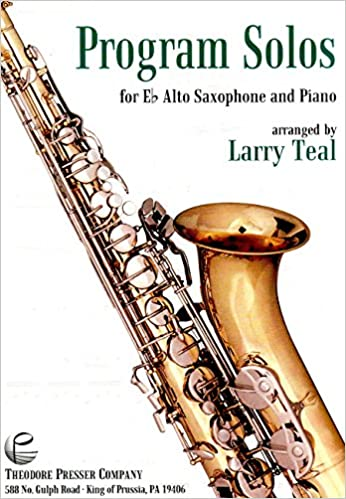 moderne for e flat alto saxophone with piano accompaniment