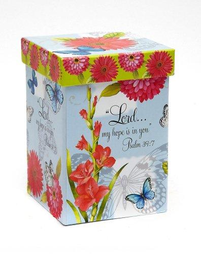 Butterfly Blessings Boxed Ceramic Latte Travel Mug 17oz