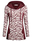 Helloacc Womens Hoodies for Leggings, Long Sleeves Tunic Tops Business Casual M