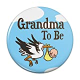 Best Grandma Pins - Grandma To Be Stork Baby Grandmother Pinback Button Review